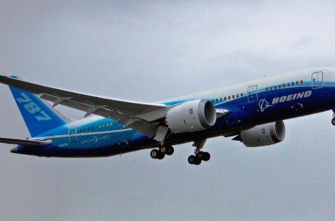 Un Boeing 787 grande come gli Stati Uniti