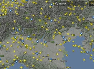 Vedere la posizione degli aerei in volo con Flightradar24
