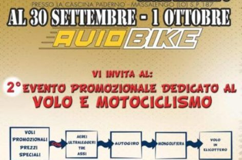 2° Evento dedicato al volo e motociclismo