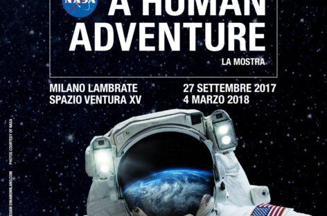 """NASA- A Human Adventure"": dal 27 settembre la NASA atterra a Milano!"