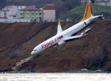 Incidente per un B737 in Turchia