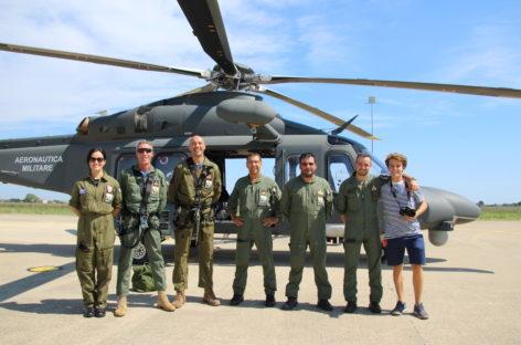 Visita al 15° Stormo dell'Aeronautica Militare