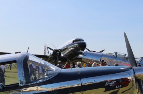 Freddie March spirit of aviation 2019 – Goodwood Revival