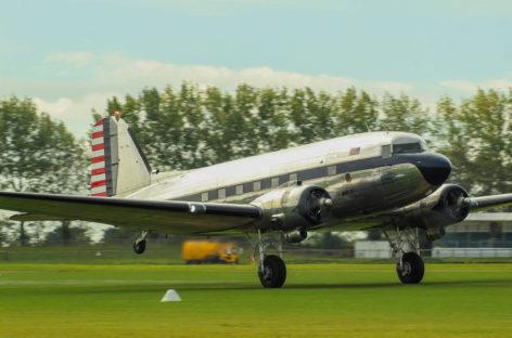 Un'avventura nella storia con un Douglas C41