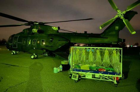 L'impegno dell'Aeronautica Militare nel fronteggiare l'emergenza Coronavirus