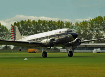 An adventure in the history with a Douglas C41 Dakota