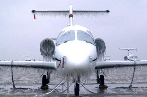 Il ghiaccio e gli aerei: problematiche e impianti dedicati