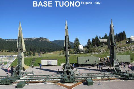 Base Tuono, il sistema di difesa missilistica della guerra fredda